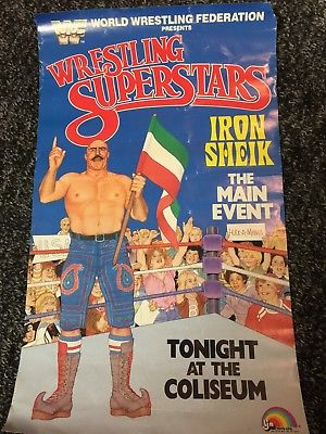 Happy birthday to the one and only Iron Sheik. Hope you have a good one