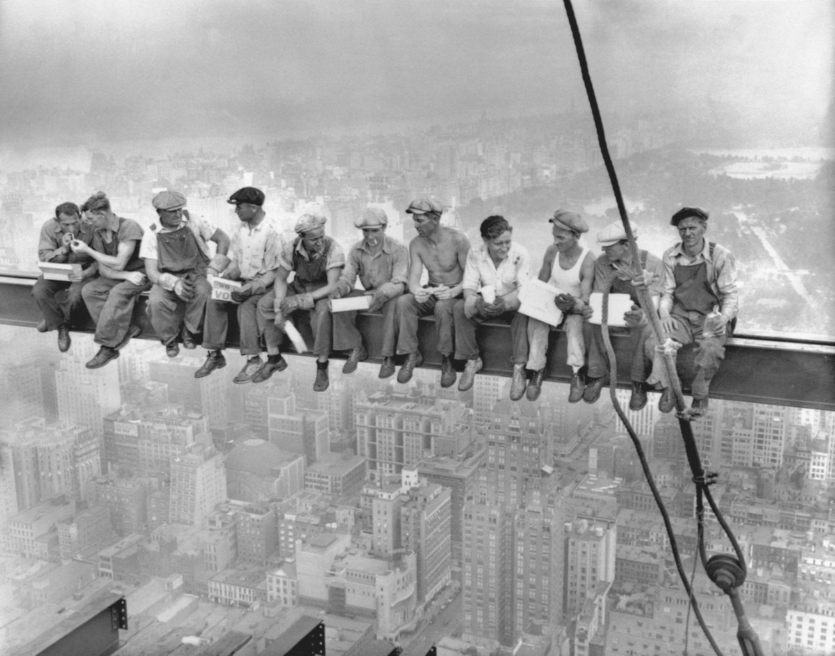 Lunch with a view. #History https://t.co/uiP7Fxojbx