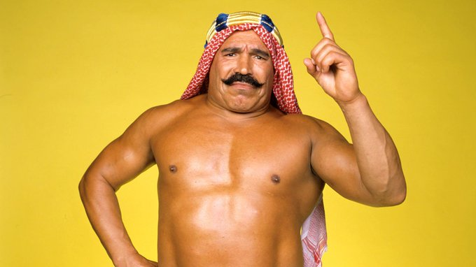 Happy Birthday to The Iron Sheik! Fuck The Hulk Hogan!