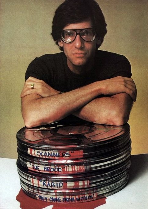 Happy 75th Birthday to my favourite director - King of body horror - David Cronenberg!