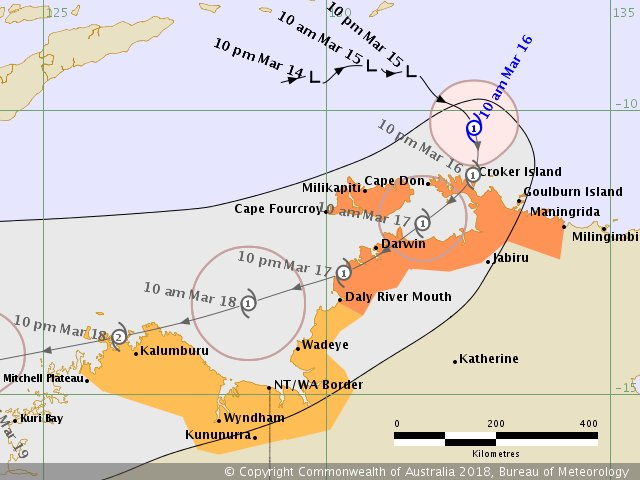 RT @BOM_NT: Tropical Cyclone Marcus has formed off the NT north coast. https://t.co/AWJKLhynnl https://t.co/VxfNrNXxn2
