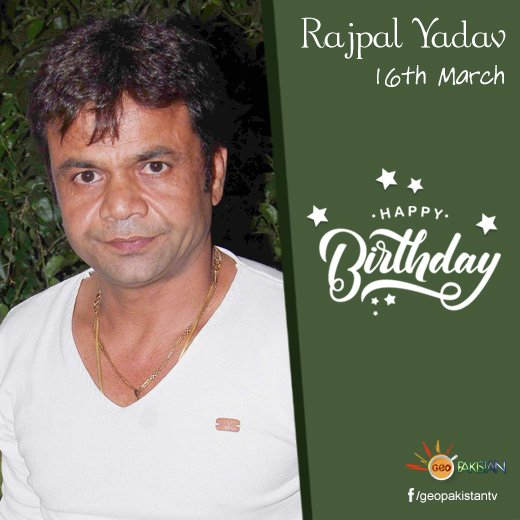 Happy Birthday, Rajpal Yadav!