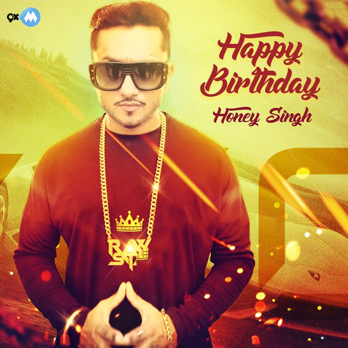 Happy Birthday Yo Yo honey singh  Sir