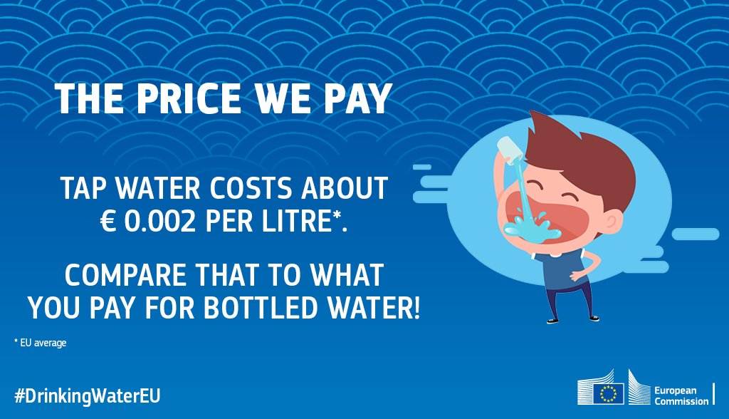 test Twitter Media - DYK that if we all relied more on tap water, households across the EU could save more than €600 million a year? With #WorldWaterDay coming up on Thursday, read how our #DrinkingWaterEU proposal will empower all Europeans ➡ https://t.co/n9o3ecmKjP https://t.co/bKndrRCror