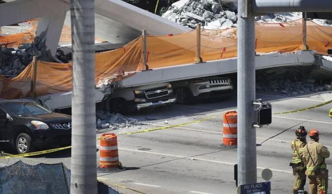 At least four dead as Florida university bridge collapses