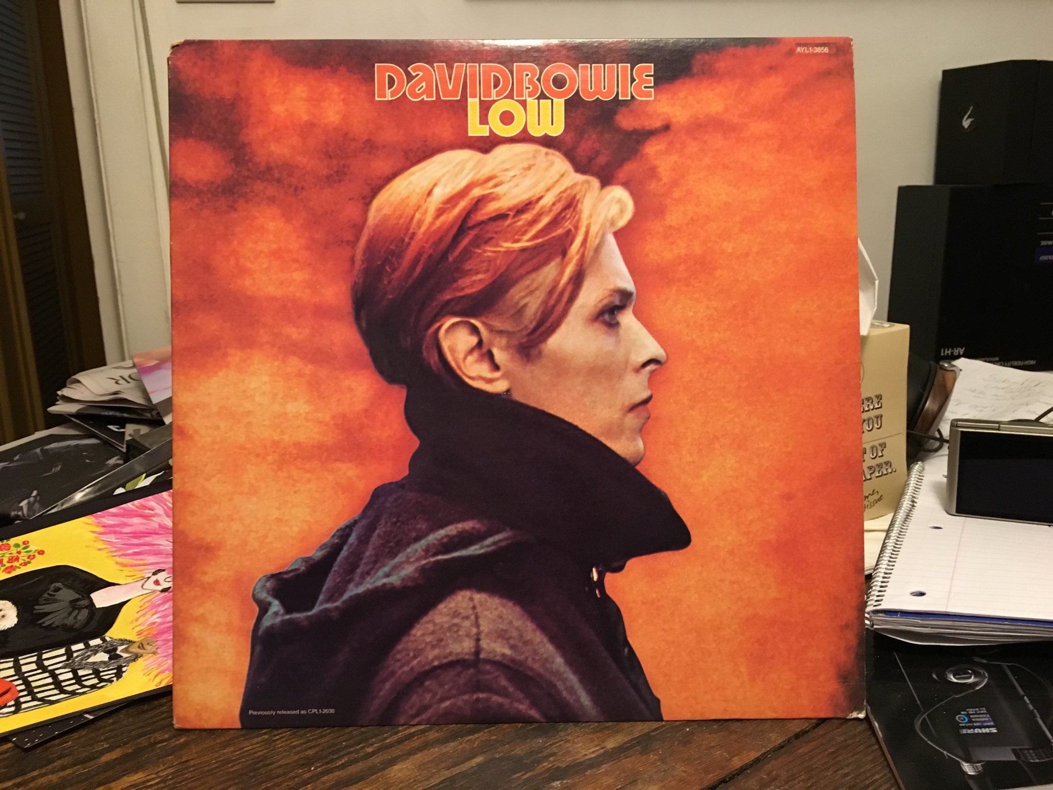 My fave Bowie album, BTW, working on my Bowie Is show at the #BrooklynMuseum story now. https://t.co/M6LtzpbDbH