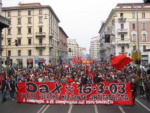 test Twitter Media - #16m sono passati quindici anni dall'omicidio di #Dax, noi non dimentichiamo. Oggi saremo a #Milano al fianco di Rosa e dei suoi compagni e delle sue compagne #antifa con #Dax nel cuore https://t.co/vieVueKuI8