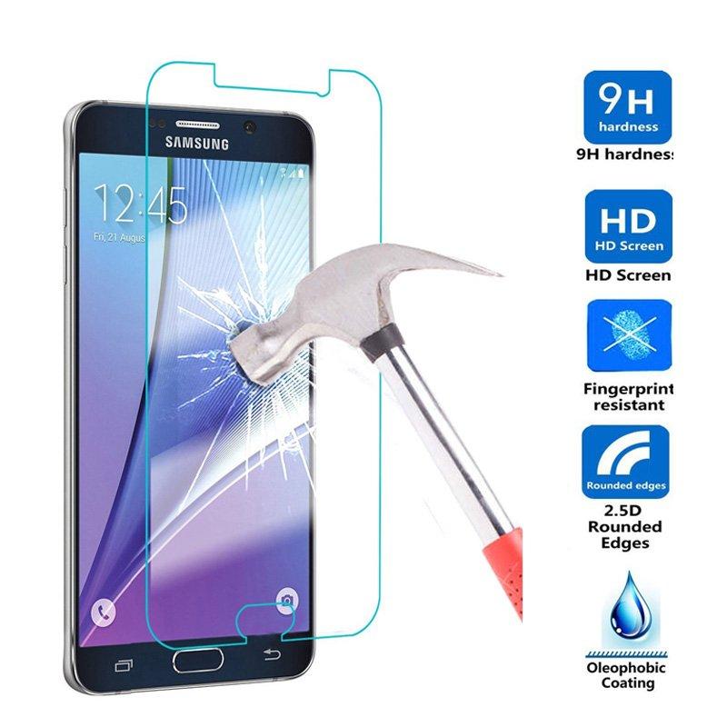 Screen Protector For Samsung Galaxy A3 A5 A7 J3 J7 2017 A320 A520 A720 Temper...
