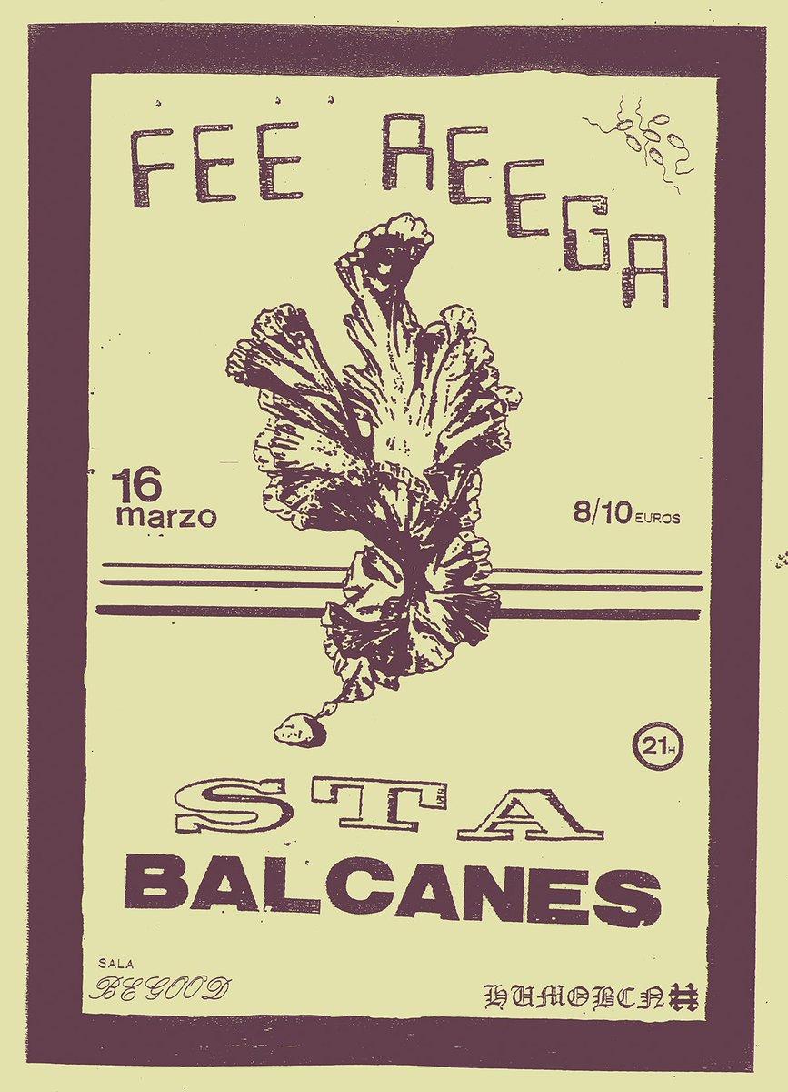 test Twitter Media - hoy concierto de STA en la @SalaBeGood  junto a Balcanes y @FeeReega  organiza @sellohumo. ahi nos vemos https://t.co/DHNGqN4Z3x