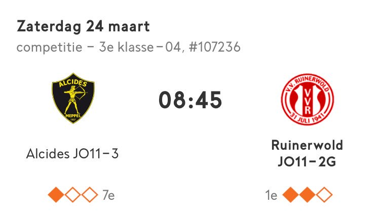 test Twitter Media - Morgenvroeg wéér op tijd de wei in! @Alcides1907 @VVruinerwold ⚽️⚽️⚽️   3 points go to #Ruinerwold 😃 https://t.co/I6JwxHPEKX