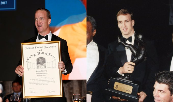Happy Birthday to 2017 inductee and 1997 winner Peyton Manning (