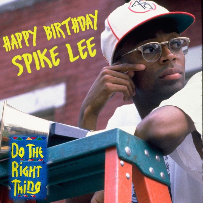 Happy Birthday, Spike Lee.