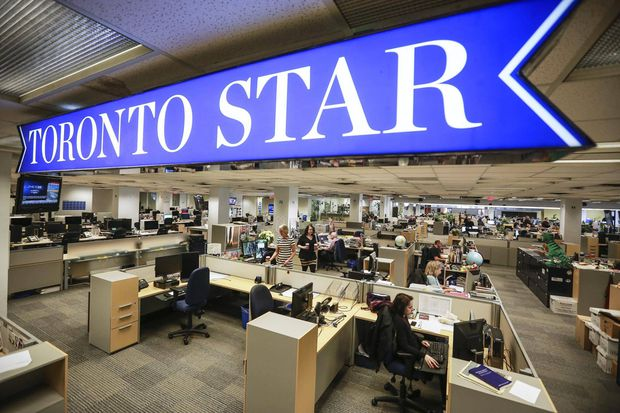 Toronto Star editor-in-chief Michael Cooke stepping down @GlobeBusiness