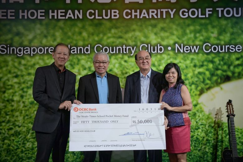 Ee Hoe Hean Club holds charity golf tournament in support of underprivileged children