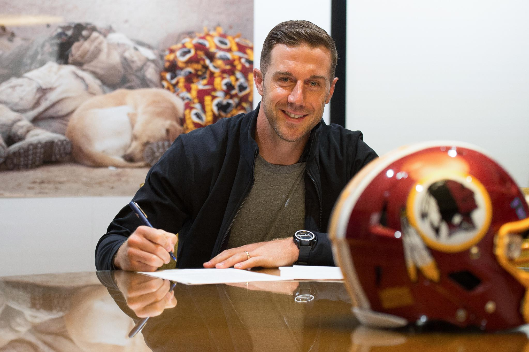 A look back at Alex Smith's first day on the job: https://t.co/M51Yfxx6Cw https://t.co/6ta8eoyTwc