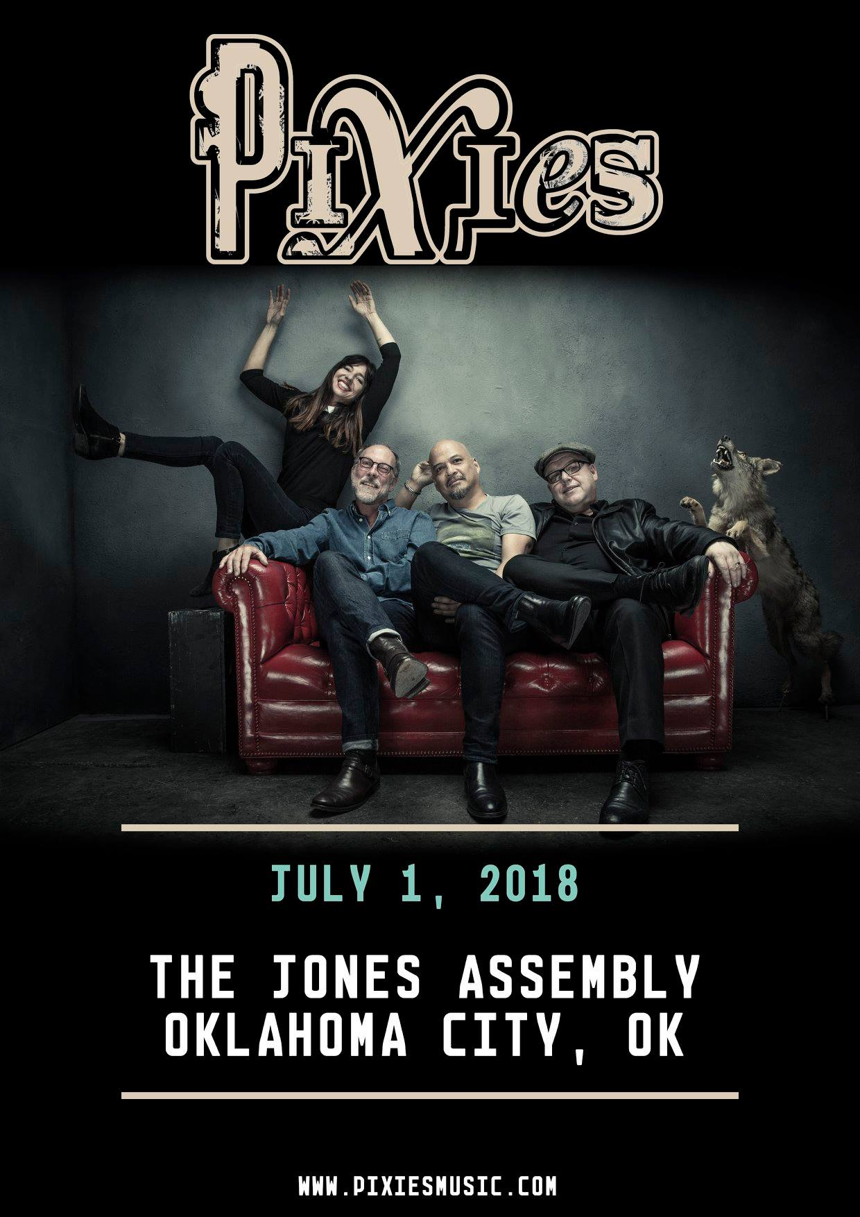 OKLAHOMA CITY, OK - we play @theJonesOKC on July 1st. Tickets are on-sale NOW at: https://t.co/NTOnjBD0Ao https://t.co/hom6tkpyRM