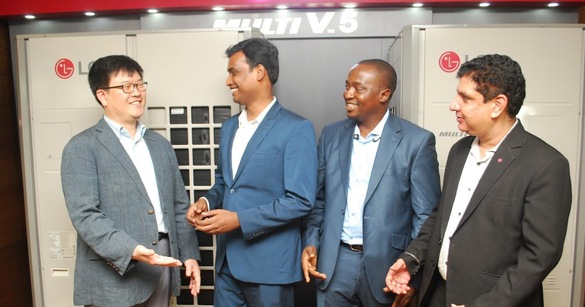 test Twitter Media - LG ELECTRONICS UNVEILS LATEST MULTI V 5 COMMERCIAL AIR CONDITIONER IN NIGERIA MARKET https://t.co/8GT5MIfkoN https://t.co/DuWmt5vK7w