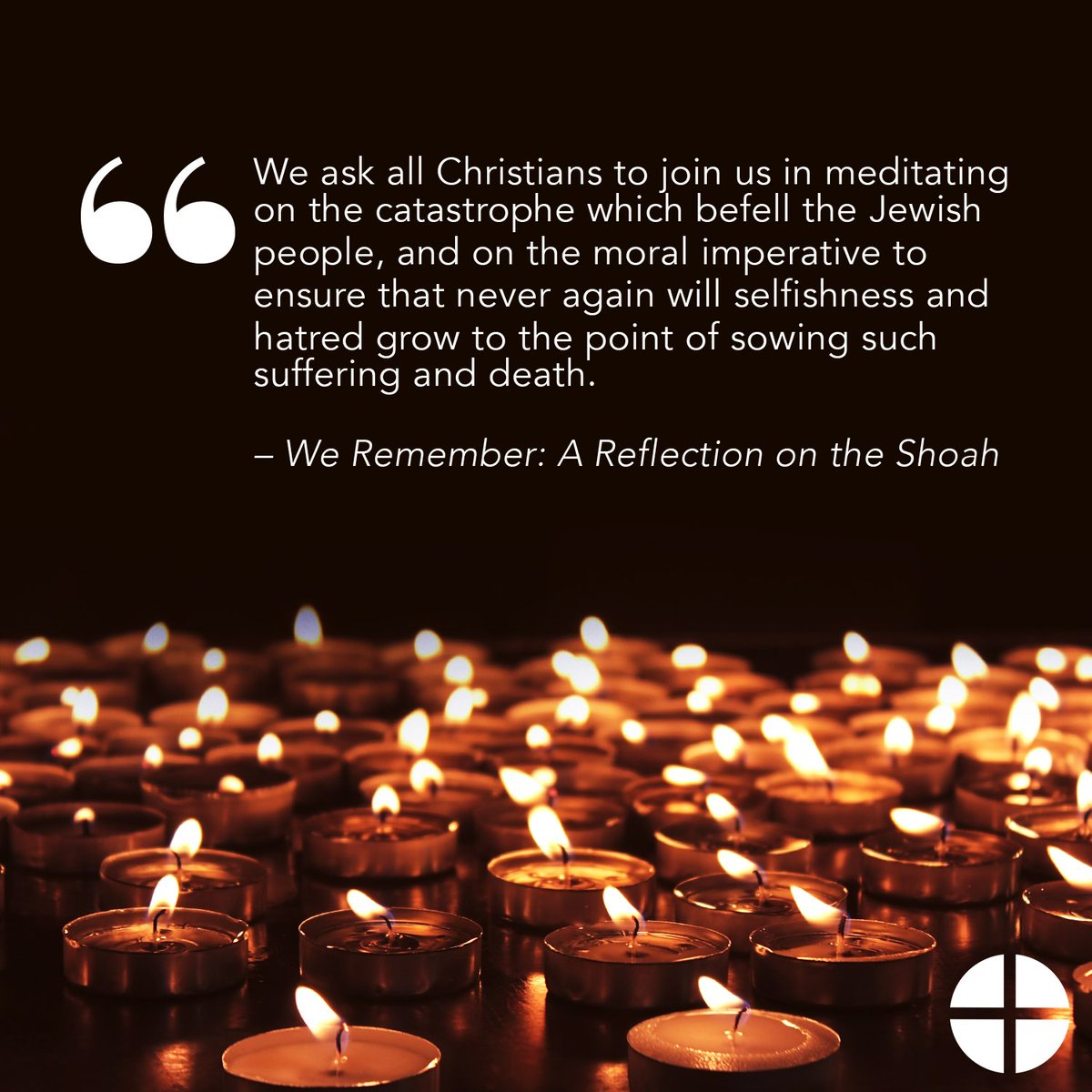 """test Twitter Media - 20 years ago today, the publication of """"We Remember: A Reflection on the Shoah"""" was an important milestone in Catholic-Jewish dialogue. Today we pray for friendship between Christians and Jews, that God continue to allow us to be a blessing to one another. https://t.co/LJ6iRYRFxC https://t.co/nvtQWsRDek"""