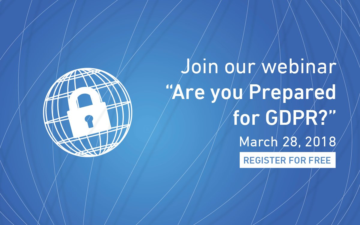 test Twitter Media - Is your organization prepared for the General Data Protection Regulation? Leaseweb and Zenedge are offering you a free webinar explaining steps to take and more! Sign up here: https://t.co/BuRs4Endem https://t.co/pMpM7QTG0s