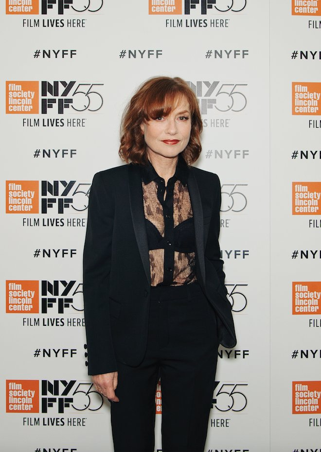 Happy birthday, Isabelle Huppert! Pictured at the 55th for MRS. HYDE.