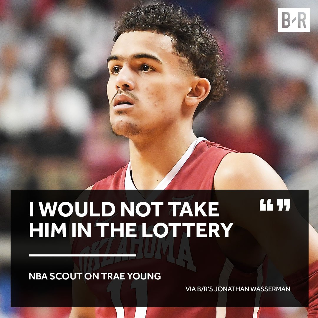 Just a reminder that Trae Youn trae young