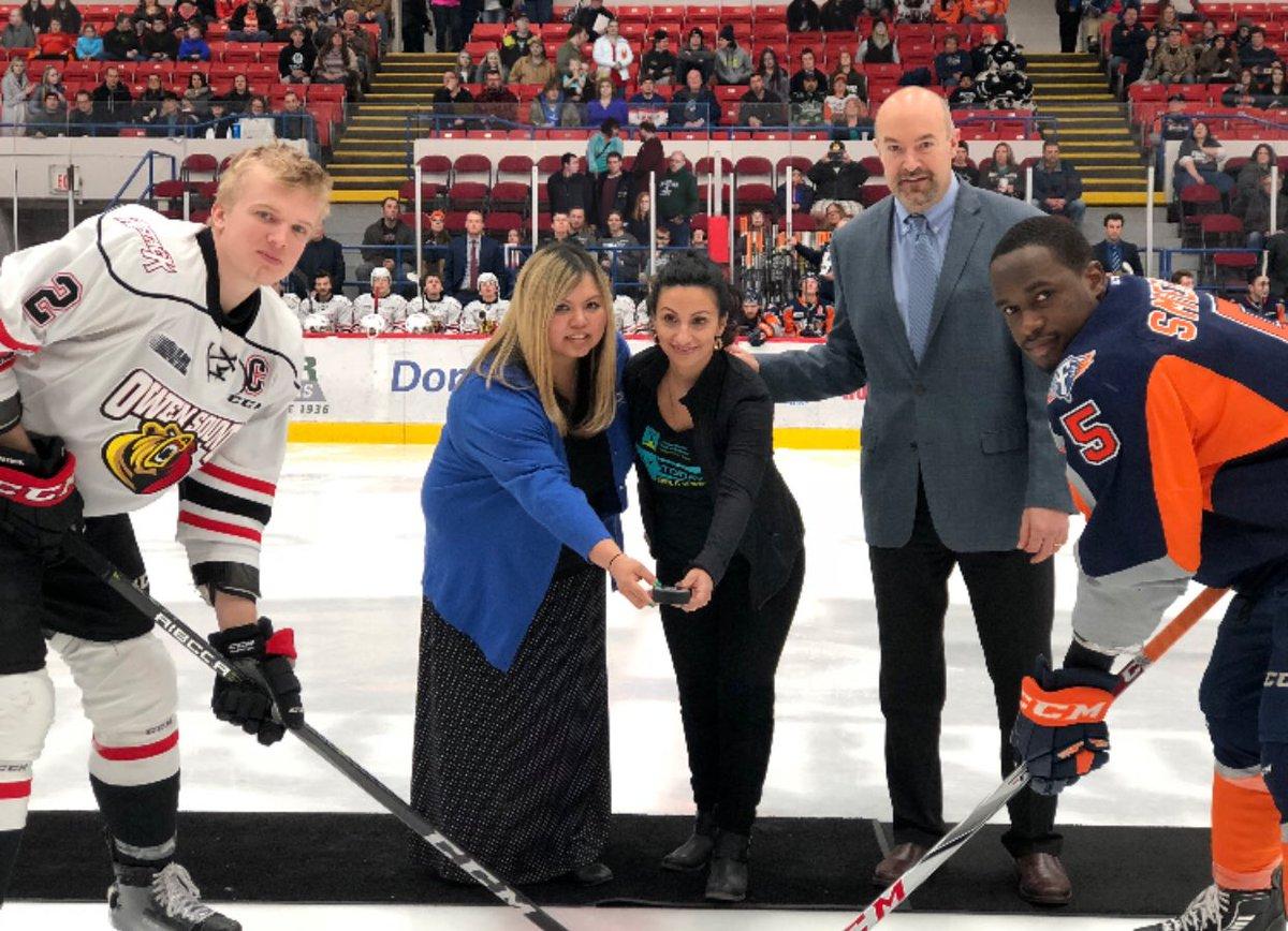 test Twitter Media - Thank you @FlintFirebirds @OHLHockey @CMHAOntario #talktoday #gamenight was a success!! #stickittostigma #YouAreNotAlone https://t.co/BViYQN0zDI
