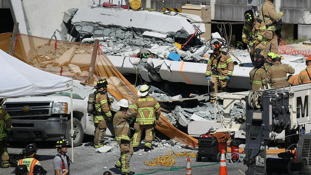 Miami bridge collapse: Officials expect to find more victims