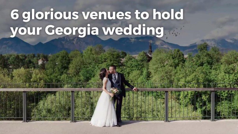 Why these Georgia sites are the 'South's best wedding venues'