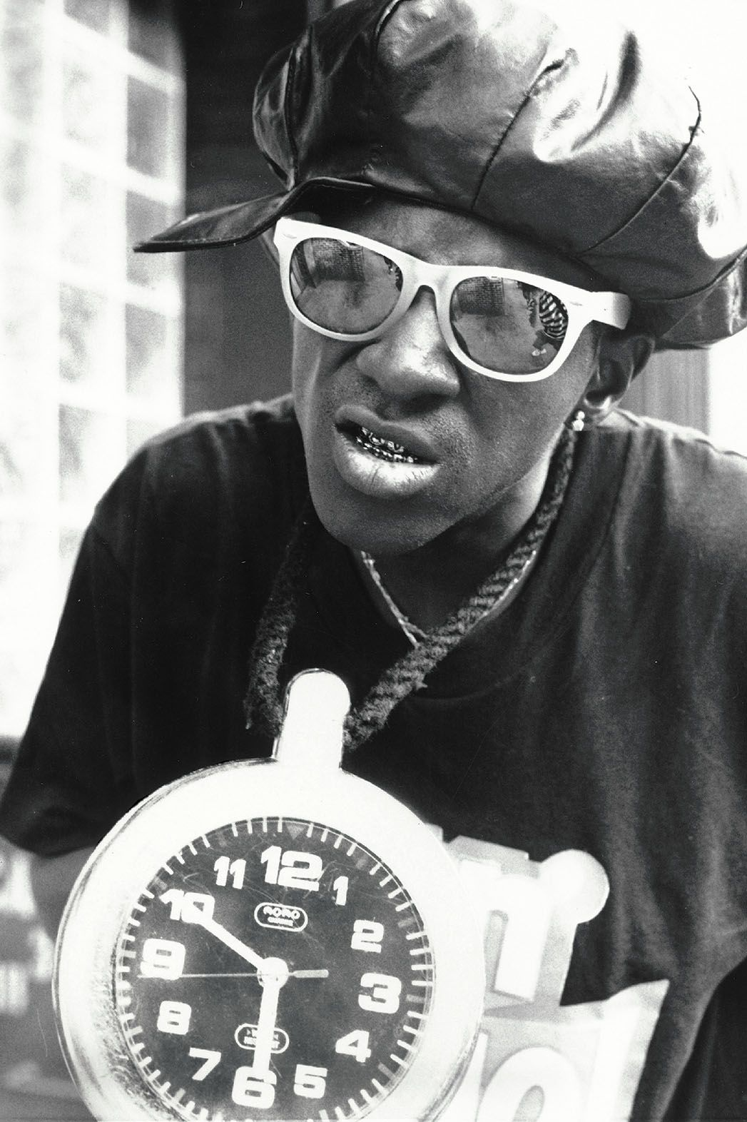Happy birthday to Flavor Flav. Photo c.1988.