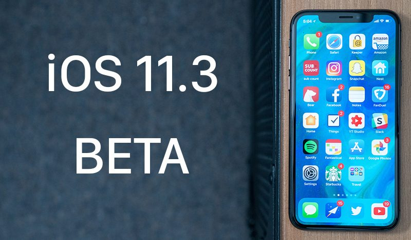 Apple Seeds Sixth Beta of iOS 11.3 to Developers