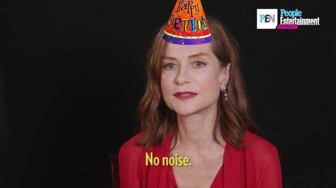 Happy bday Isabelle Huppert