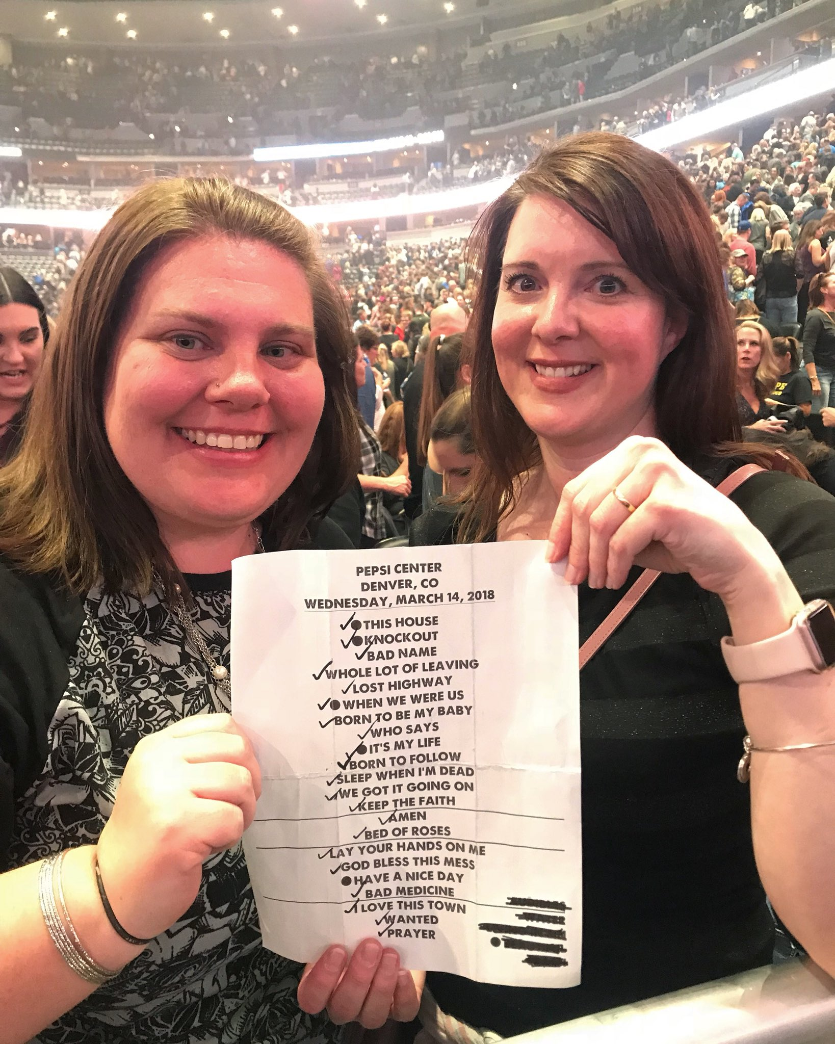 Our setlist from Denver. Who's going to SLC tonight?? #THINFStour https://t.co/NBh5vpwPva