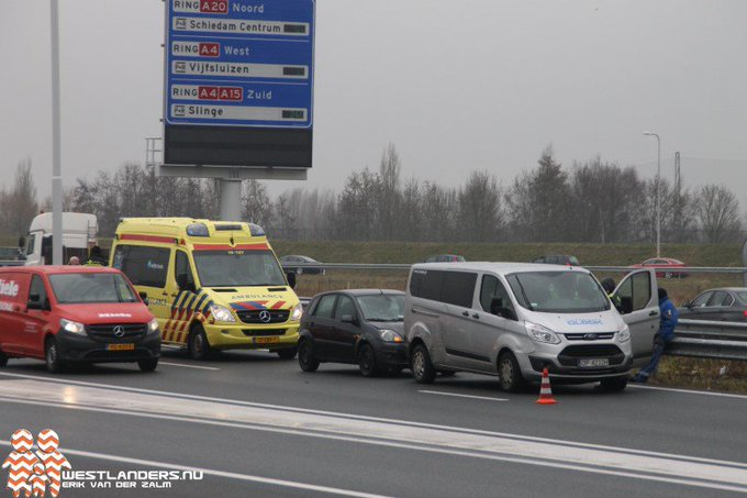 Kop staart botsingen op A4 en N211 https://t.co/u5MihrmOPv https://t.co/ZZyT0ZIfU7