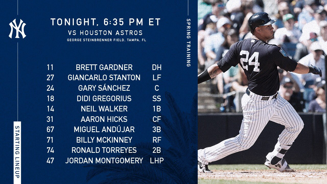 New face in the lineup today. https://t.co/6VUrbgi9Y4