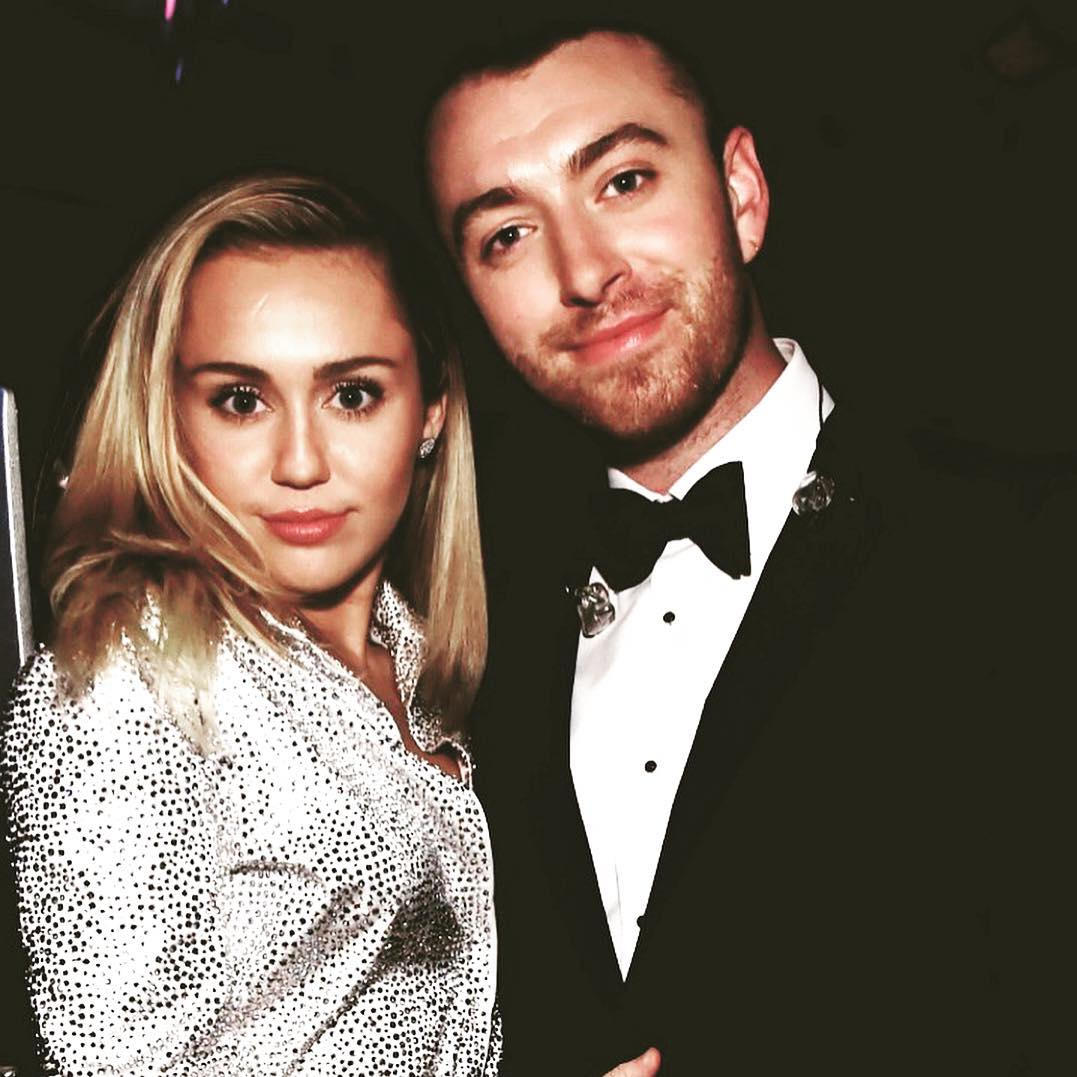Could you even IMAGINE an @MileyCyrus + @samsmithworld collab? �� https://t.co/SHd9kDNb6s