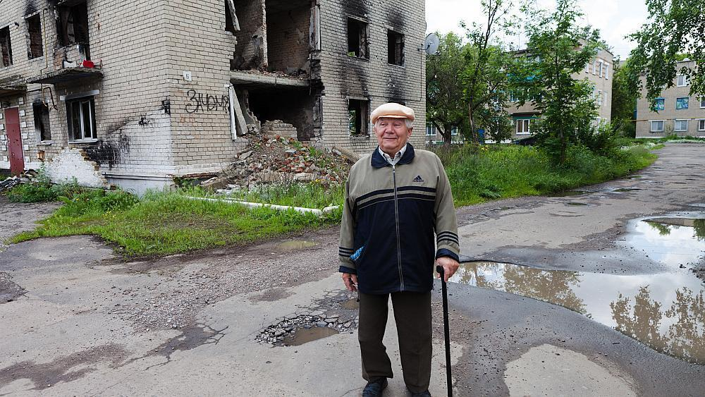 From the front line: rebuilding shattered lives in eastern Ukraine