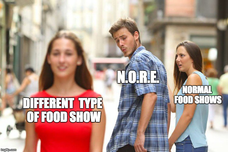 What type of food show is it, @noreaga? #ontheruneatin 😂 https://t.co/kDvso51P1F