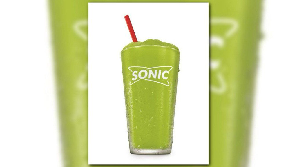 Pickle juice slushes are real. Sonic will sell them this summer