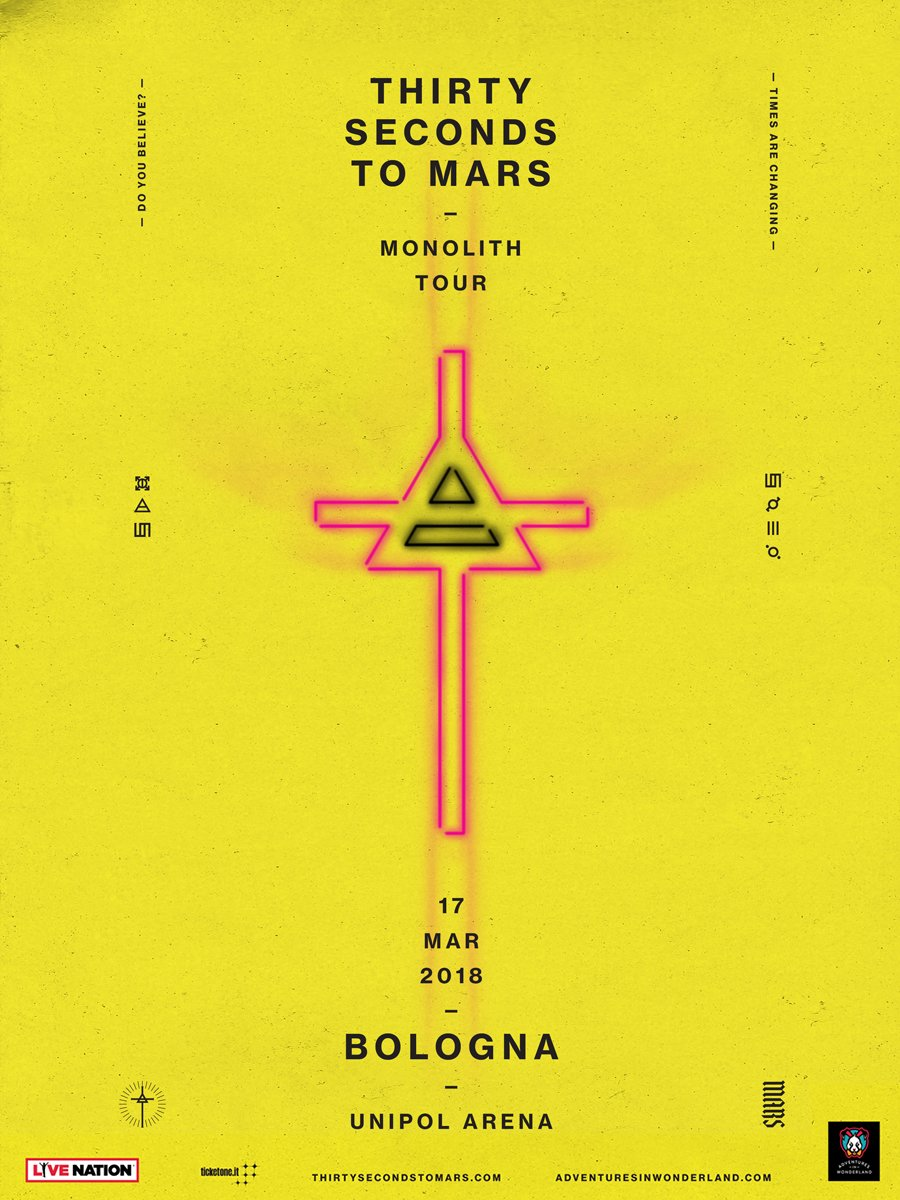 RT @30SECONDSTOMARS: BOLOGNA.. STASERA!!   ???? https://t.co/nVUMfIEBpF ???? https://t.co/Xe9uylUfFE https://t.co/LRqy22AhnS