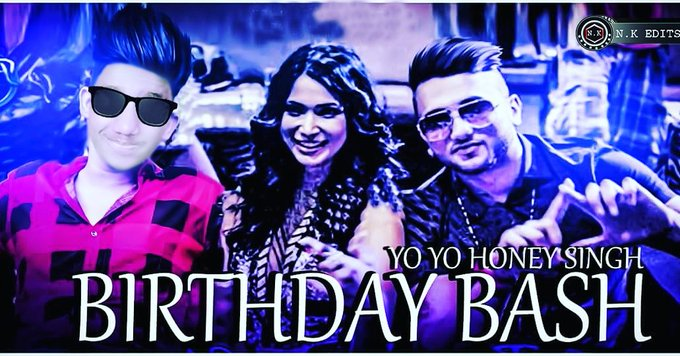 Happy birthday tou yo Yo Honey singh