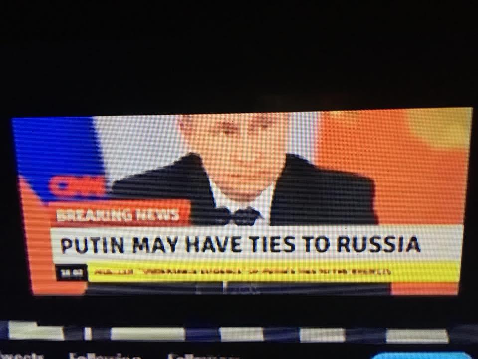 #BREAKING NEWS - #PUTIN HAS TIES TO #RUSSIA!!! - https://t.co/Sc4Zftv7oF