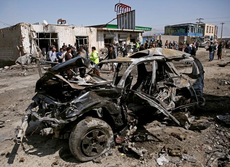 Car bomb kills at least three in Afghan capital https://t.co/boccKrHU8b https://t.co/I92TnMkkQ6