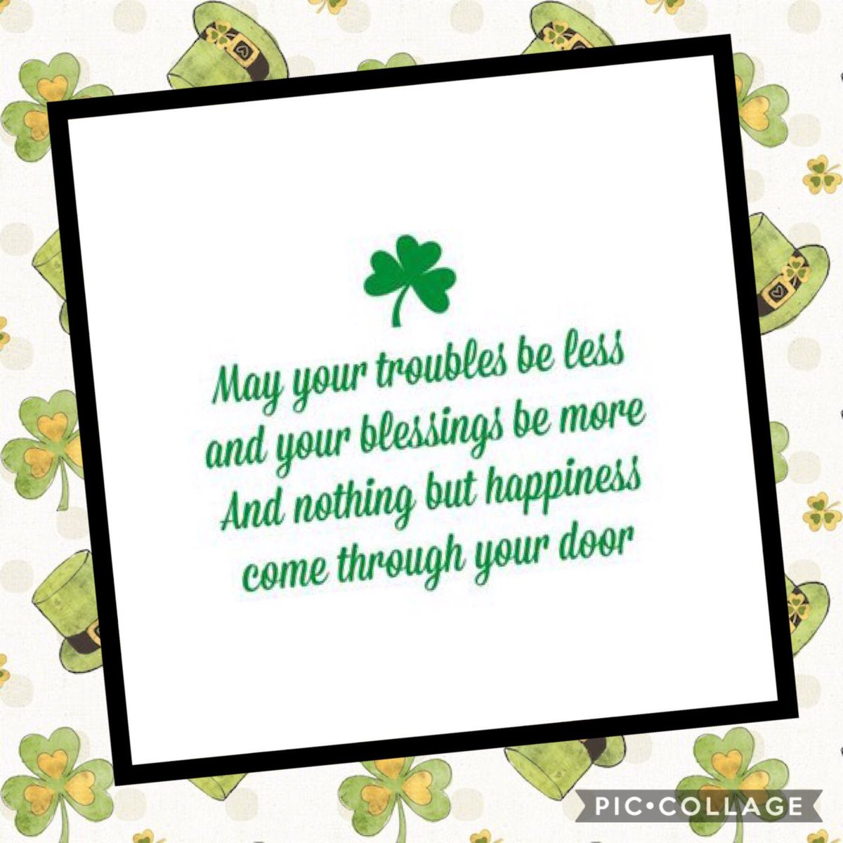 Happy St. Patrick's Day to all!  🍀🍀🍀 https://t.co/ZpV8abPNaC