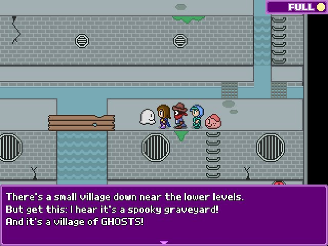 Running into trouble on this #screenshotsaturday   #gamedev #indiegame #rpgmaker #pixelart https://t.co/Lh6cH9nL6B