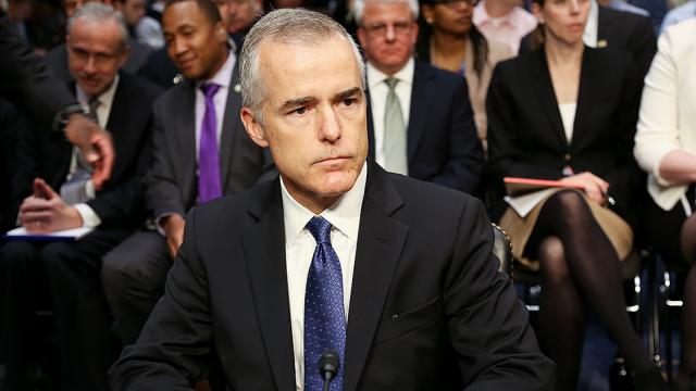 NEW: Five claims that McCabe made after his firing https://t.co/kFWQYhFFFs https://t.co/FlG3n1IJ5W