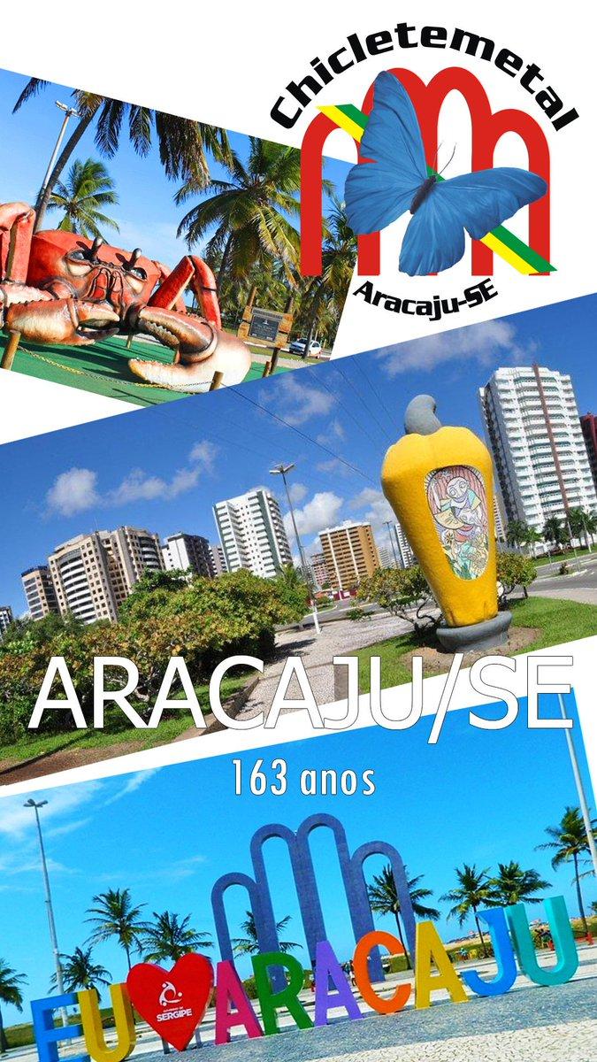 #Aracaju163anos