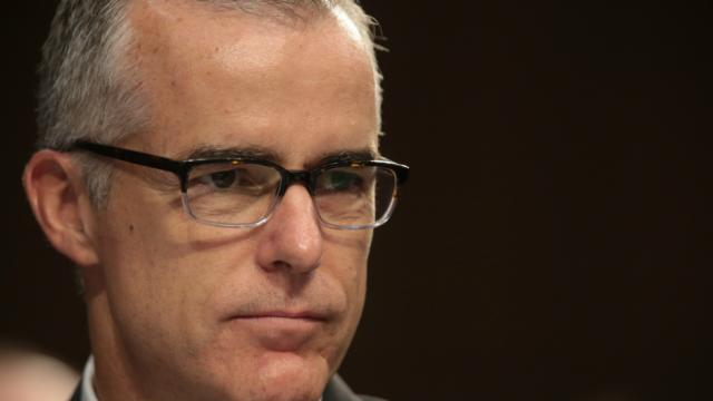 McCabe hits back: I was fired to undermine Mueller's probe https://t.co/ZMEN5GY9th https://t.co/dFKblPlrCz