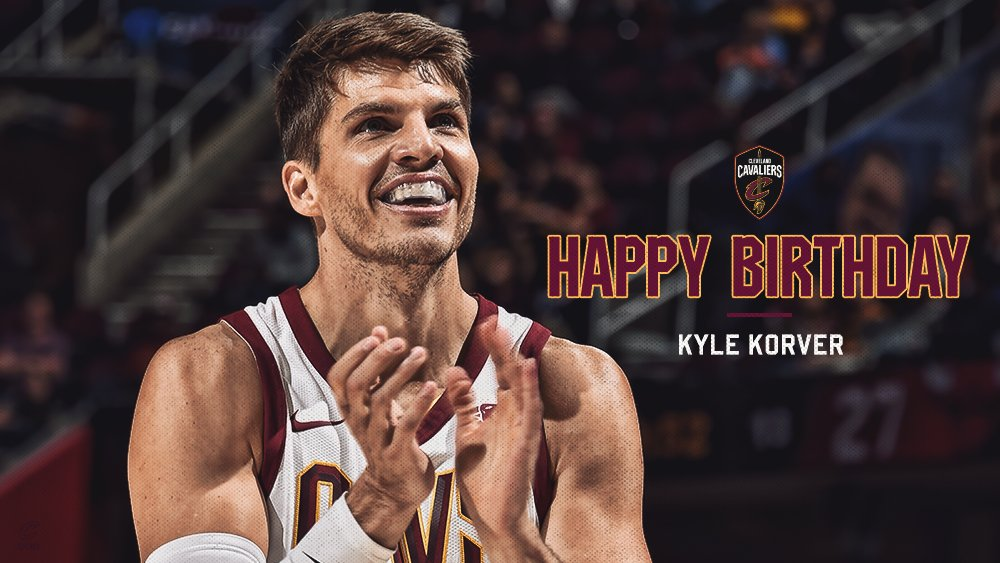 Happy 3-7, @KyleKorver! ������  #HBD ��: https://t.co/fvgieecfBQ https://t.co/wbBSWHaRYC