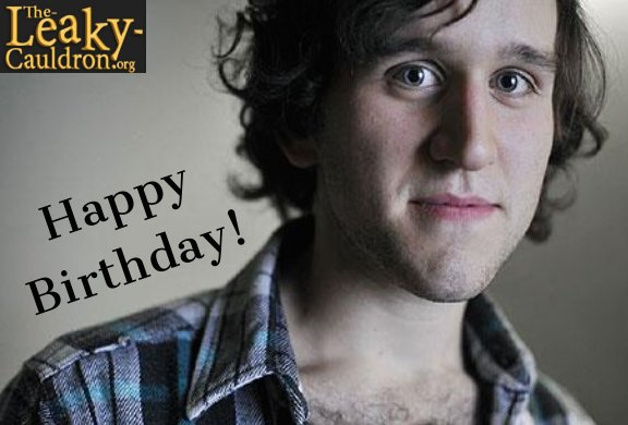 Wishing a very Happy Birthday to Harry Melling, who portrayed Dudley Dursley in the film series!