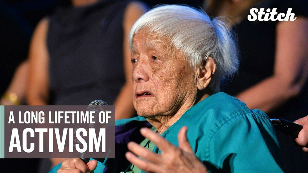test Twitter Media - Grace Lee Boggs fought for equality, fairness, and hope throughout her lifetime https://t.co/kSHhJeNTQE https://t.co/OXNDluLzDu